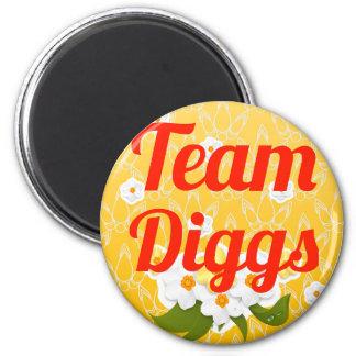 Team Diggs Fridge Magnet