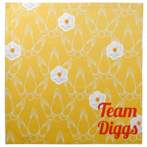 Team Diggs Cloth Napkin