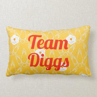 Team Diggs Throw Pillow