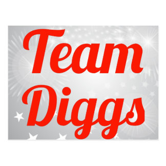 Team Diggs Post Cards