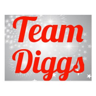 Team Diggs Postcard