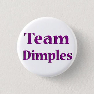 Team Dimples Button 1 1/4 inch
