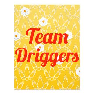 Team Driggers Custom Flyer
