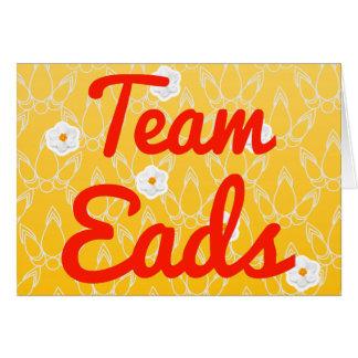 Team Eads Cards