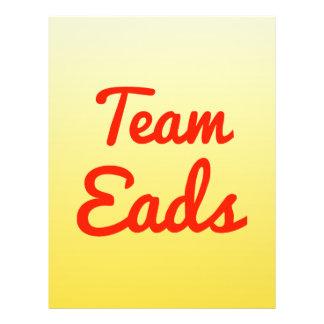 Team Eads Flyer Design