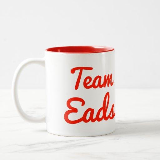 Team Eads Coffee Mugs