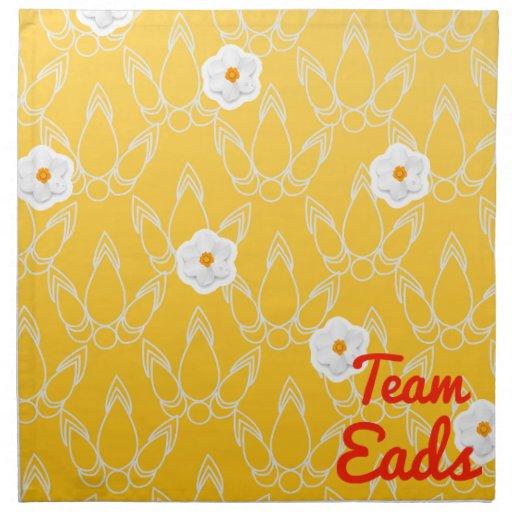 Team Eads Printed Napkins