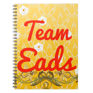 Team Eads Note Books