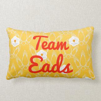Team Eads Throw Pillow