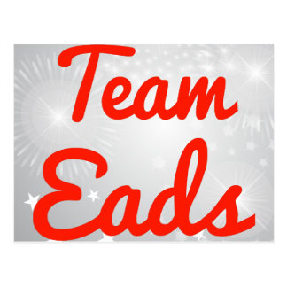 Team Eads Postcard