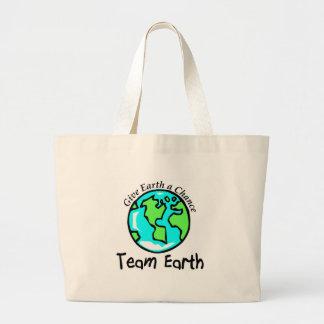 Team Earth Large Tote Bag