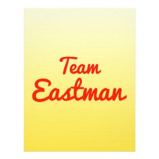Team Eastman Custom Flyer