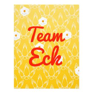 Team Eck Flyer