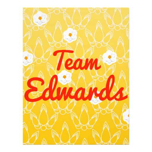 Team Edwards Full Color Flyer