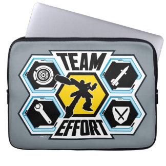 Team Effort Laptop Sleeve