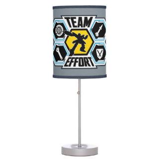 Team Effort Table Lamps