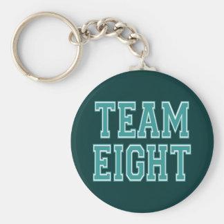 Team Eight Keychain