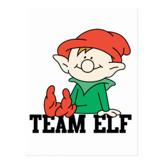 TEAM ELF POSTCARD