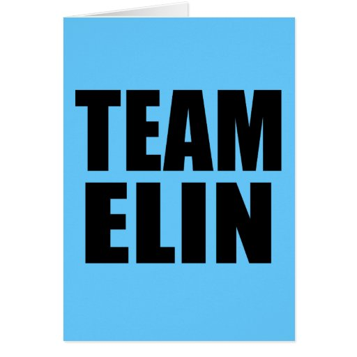 TEAM ELIN T-shirts, Sweats, Bags Cards