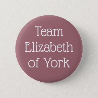 Team Elizabeth of York 2 Inch Round Button