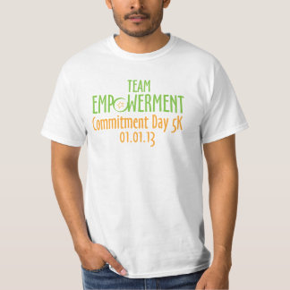 Team Empowerment Commitment Day Virtual 5K Shirt