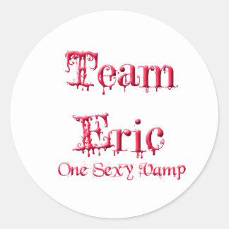 Team Eric Classic Round Sticker