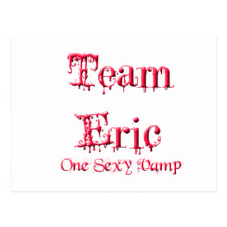Team Eric Postcard
