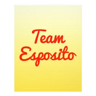 Team Esposito Flyer Design