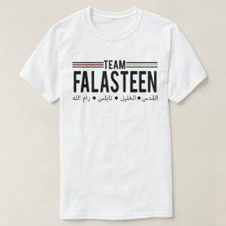 Team Falasteen Palestine Arabic Script T-Shirt