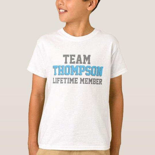 Team Family Lifetime Member- Foster Adopt T-Shirt
