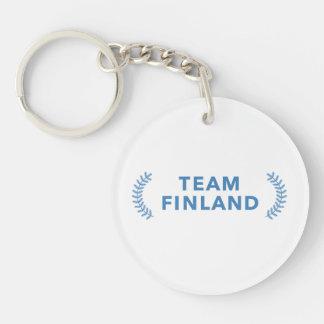 Team Finland Keychain