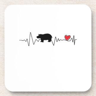 Team Fiona Baby Hippo  Love Hippopotamus Coaster