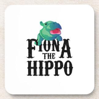Team Fiona The Hippo Love Hippopotamuss Coaster