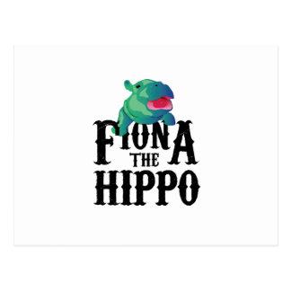 Team Fiona The Hippo Love Hippopotamuss Postcard