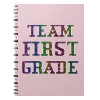 Team First Grade, Back To School Journal Notebook