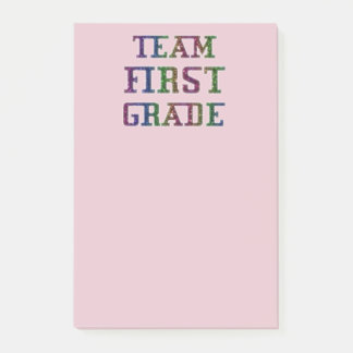 Team First Grade, Back To School Post-It Notes
