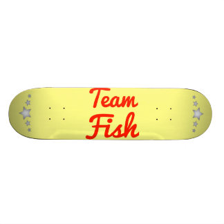 Team Fish Skate Deck