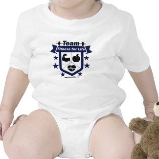 Team Fitness for Life Logo Baby