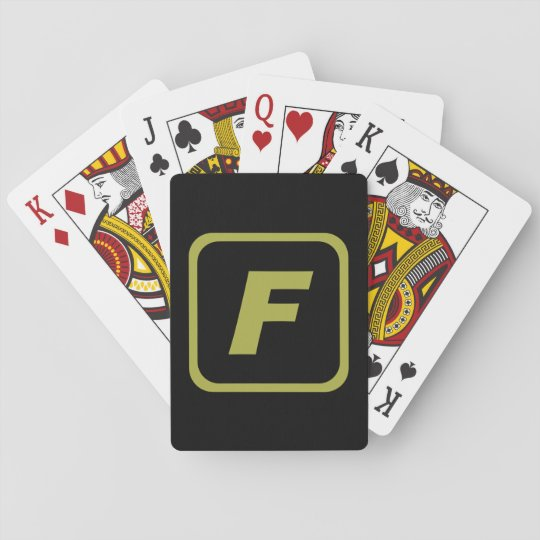Team FORTI Logo Playing Cards