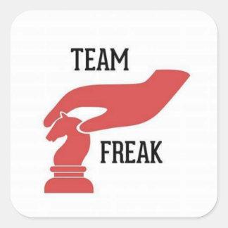 Team Freak Joan Ferguson Square Sticker