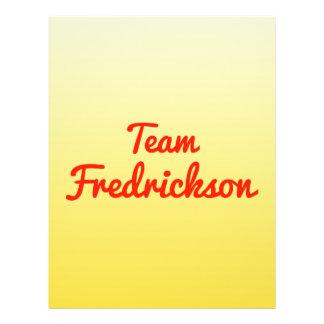 Team Fredrickson Flyer
