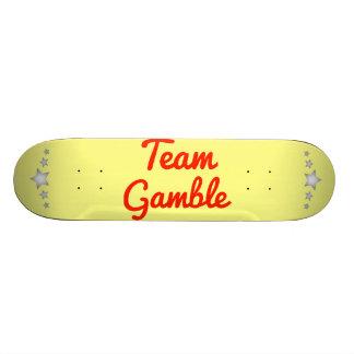Team Gamble Skate Decks