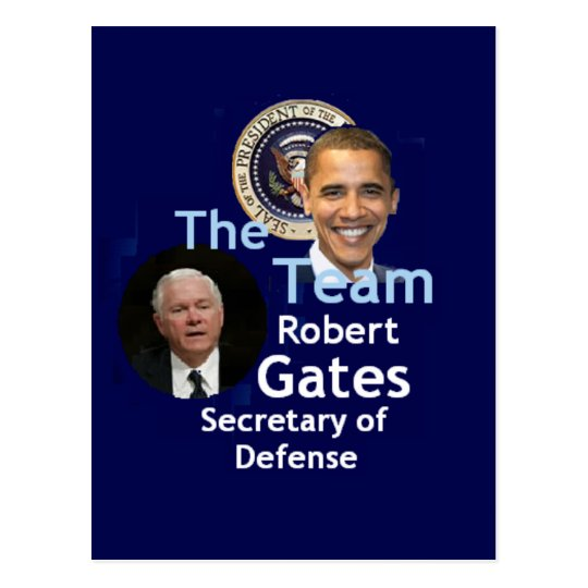 Team Gates Postcard