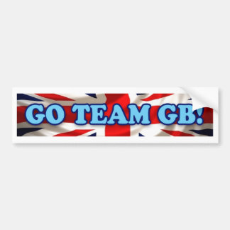 Team GB Bumper Sticker