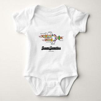Team Genetics (DNA Replication) Baby Bodysuit