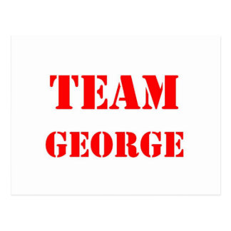 Team George Postcard