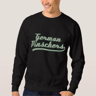 Team German Pinscher Embroidered Sweatshirt