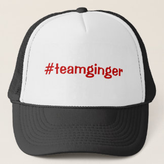 Team Ginger Trucker Hat