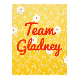 Team Gladney Personalized Flyer