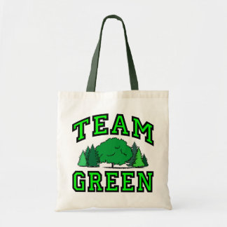 Team Green Tote Bag
